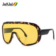 JackJad 2020 Fashion Cool Oversized Shield Mask Style EPICA Sunglasses