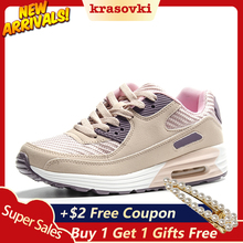 Krasovki Spring Fashion Women Shoes Female Casual tenis feminino light breathable mesh shoes Platform Lady sneaker