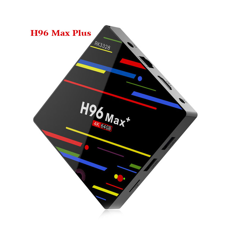 Android 8.1 Box TV inteligente H96 Max Plus 2 GB RAM 16 GB ROM Rockchip RK3328 H.265 4 K 2.4G/5 Ghz double WIFI TVbox pk Mi S X96-in Décodeurs TV from Electronique    3