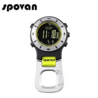 Spovan 3ATM Waterproof Outdoor Sports Watch Aluminium Handheld Backlight Barometer Altimeter Thermometer Compass Digital Watch