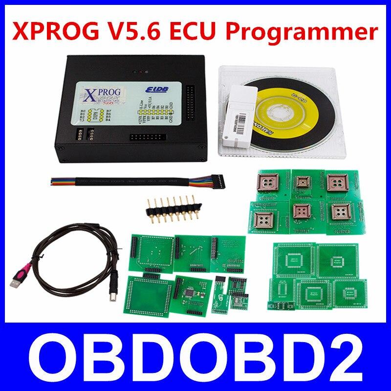 New Arrivals XPROG V5.60 / V5.70 ECU Chip Tuning Programmer X-PROG M Box 5.60 USB Dongle Xprog-M 5.6 Better Than X Prog V5.55