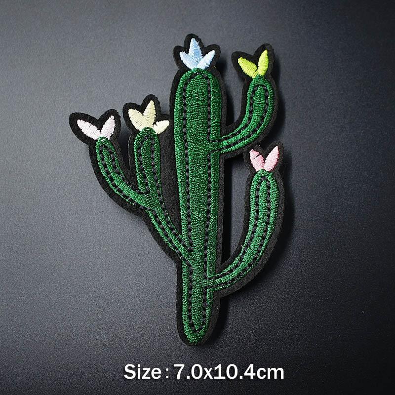 Банан молния кактус DIY тканевые значки для украшения утюга на патч одежда швейное украшение аппликация Пришивные нашивки - Цвет: 20