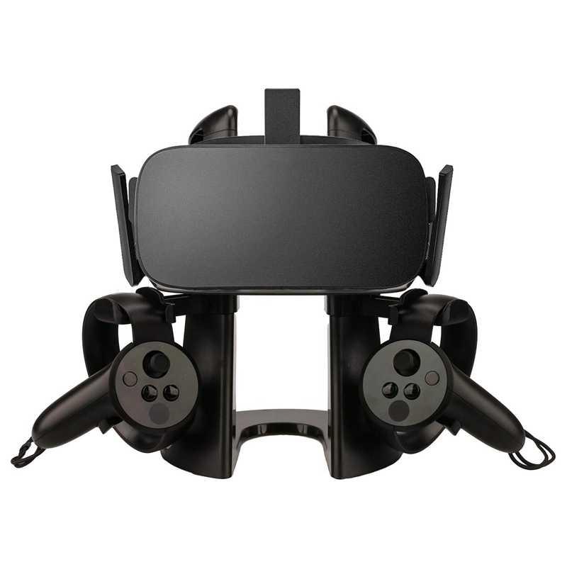 Amvr 3d vr vidro fone de ouvido estação exibição para rift jogo controlador suporte para samsung engrenagem vr para htc vive/pro fone de ouvido