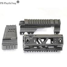 PB игривый bOutdoor тактика DIY съемка хобби jinming MP5X fishbone sci-fi атака головы комбинированная направляющая гелевая шариковая пушка KD29