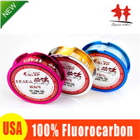 TOP1 Super Stronger 100 Fluoro Carbon Fishing Line 150m Monofilament Leader Fluorocarbon Fishing Lines 1 0