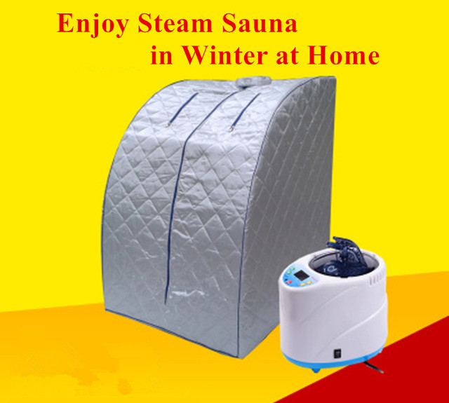 Steam Saunas For Release Fatigue Skin Beauty Sleep Aiding Lose Weight Slim Body Steaming Sauna Device With Steam Generator