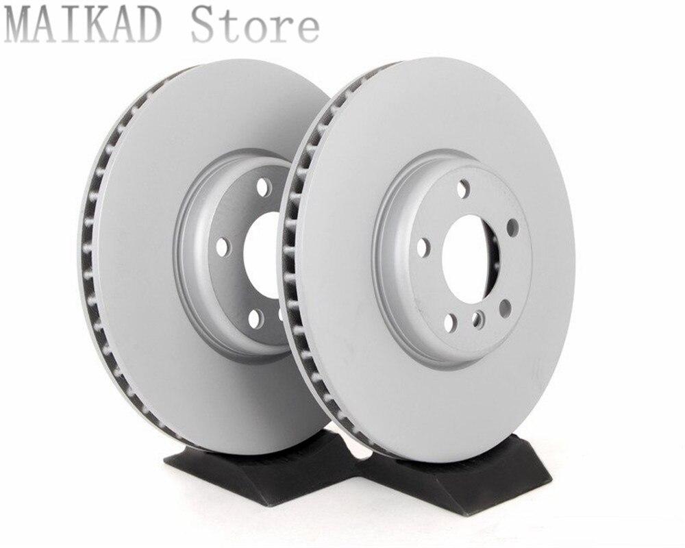 1pair/2PCS Front brake disc Set Brake Rotor for BMW F01 F02 F03 F04 730i 740i 750i 760i 730Li 740Li 750Li 34116785669 Caliper & Parts     - title=