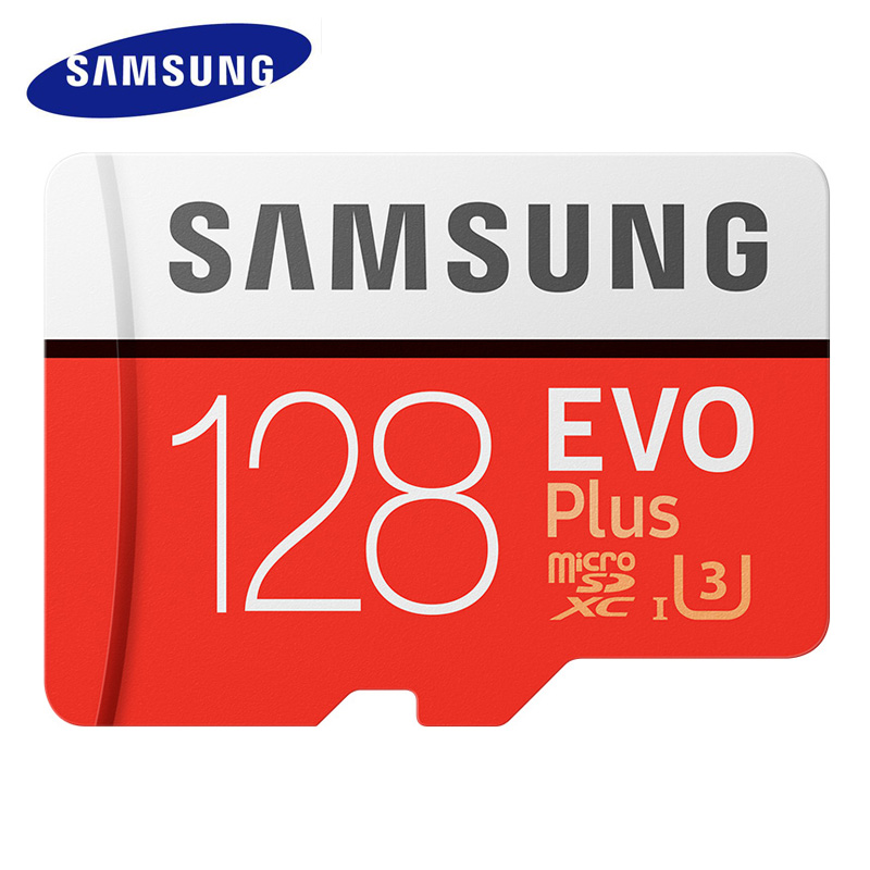 SAMSUNG Memory Card Class 10 Micro SD Card 128gb SDXC Grade EVO+ TF Micro Card memory stick pro duo tarjeta Red micro sd memoria samsung new evo memory card 16gb 32gb sdhc 64gb 128gb 256gb sdxc tf flash card micro sd cards uhs i class10 c10 u3 free shipping