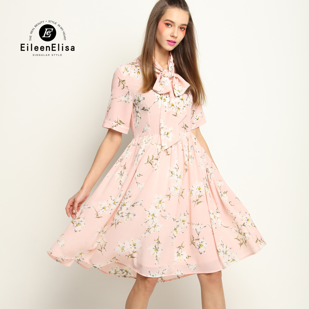 Spring Summer Dress Women Runway Print Dress 2017 High Quality Dress Designers