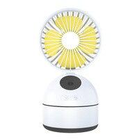 USB Spray Fan Bedroom Office Desktop Hydrating Outdoor Portable Charging Air Cooling Fan Wholesale