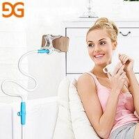 GUSGU 360 Degree Rotation Flexible Phone Holder For IPhone Universal Long Arm Table Bracket Phone Stand