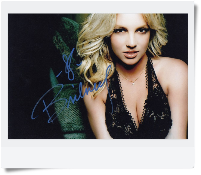 signed Britney Jean Spears autographed photo 7 inches freeshipping 092017A got7 got 7 youngjae kim yugyeom autographed signed photo flight log arrival 6 inches new korean freeshipping 03 2017
