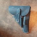 WW2 German Military Army Wehrmacht Holster Pistolentasche PPK Gun Holster Walther 1942 War DE/103103