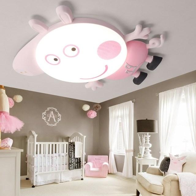 Peppa Schwein Kitty Katze Cartoon Stil Kinderzimmer Deckenleuchte Führte  Cartoon Licht Netter Junge Mädchen Schlafzimmer Licht 220 V