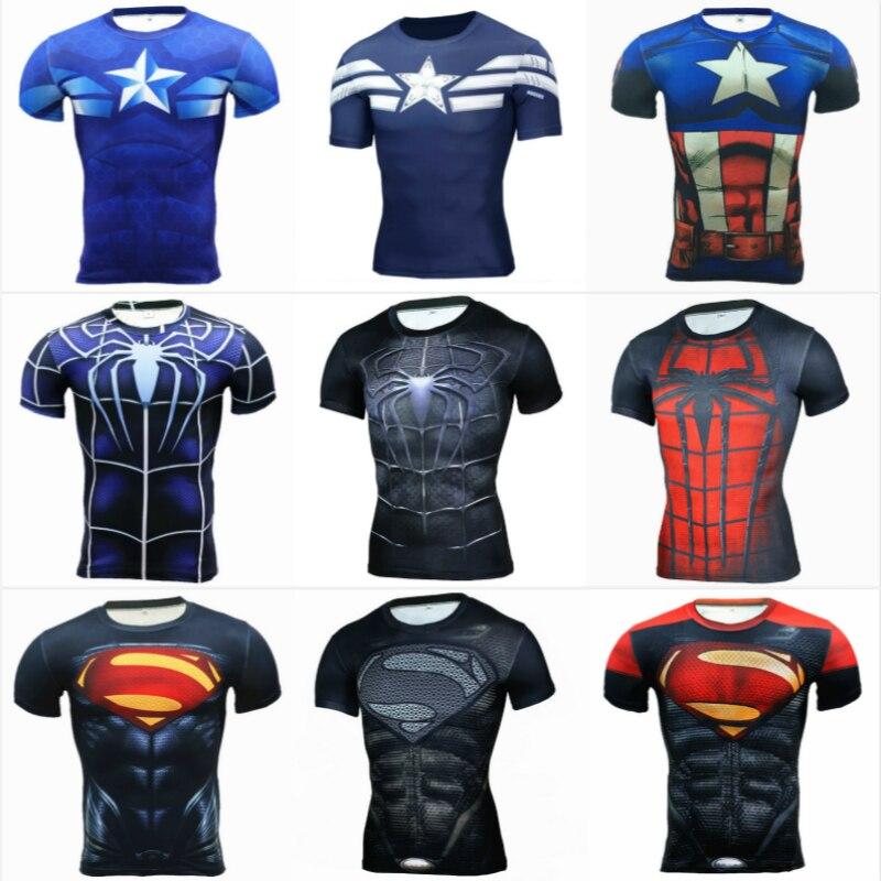 Grappige T-shirt Superhero Party Men Tank Top Canotta BodyBuilding - Carnavalskostuums