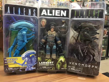 Movie characters aliens vs predator blood toys ALIENS eleventh wave combat alien astronaut Kenner edition model action figure фото