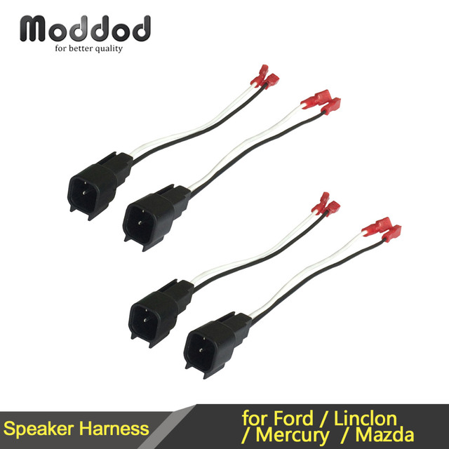 for ford lincoln mercury speaker wire harness connects aftermarket rh aliexpress com ford f150 speaker wiring harness speaker wire harness adapter ford