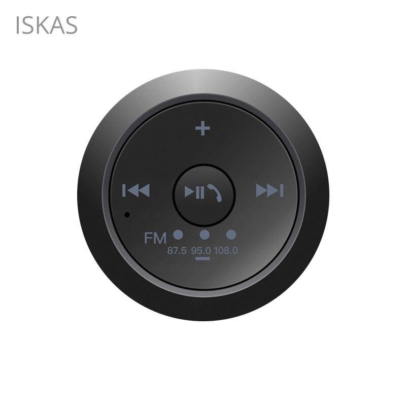 ISKAS diente azul receptor 3,5mm Bluetooth 5,0 Jack de 3,5mm manos libres inalámbrico Aux Bluetooth Adaptador de FM Transmisor nuevo