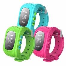 Smart Kid Safe GPS Uhr Armbanduhr SOS Anruf Location Finder Locator Tracker für Kind Kind Q50 auch haben GT08/DZ09 smartwatch