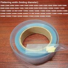 Película retráctil de plástico PVC para manualidades, 1kg, 100MM de ancho, envoltura termorretráctil, batería, paquete de piel, película aislante