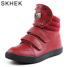 SKHEK New Kids Martin Boots For Boy Girl Boots Quality Rubber Casual Boots Children's Shoes Winter Snow Boot Fashion Shoe