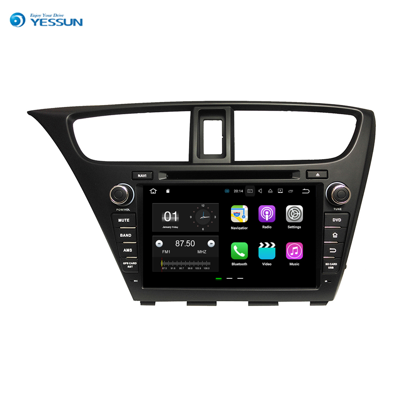 Honda Civic Indash Navigation 2017: YESSUN Android Car Navigation GPS For Honda Civic 2014