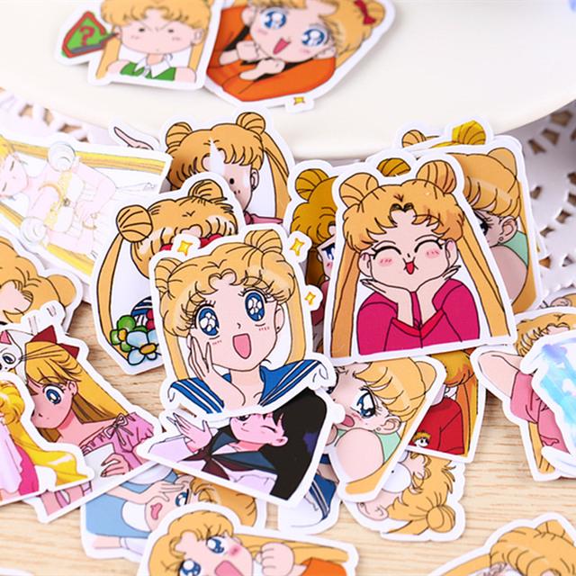 Sailor Moon Sticker Set 33 pcs Set
