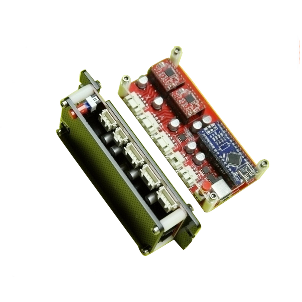 Usb 2 Axis Control Board Diy Laser Engraving Machine Motherboard Stepper Motor Controller Mainboard Driver Panel