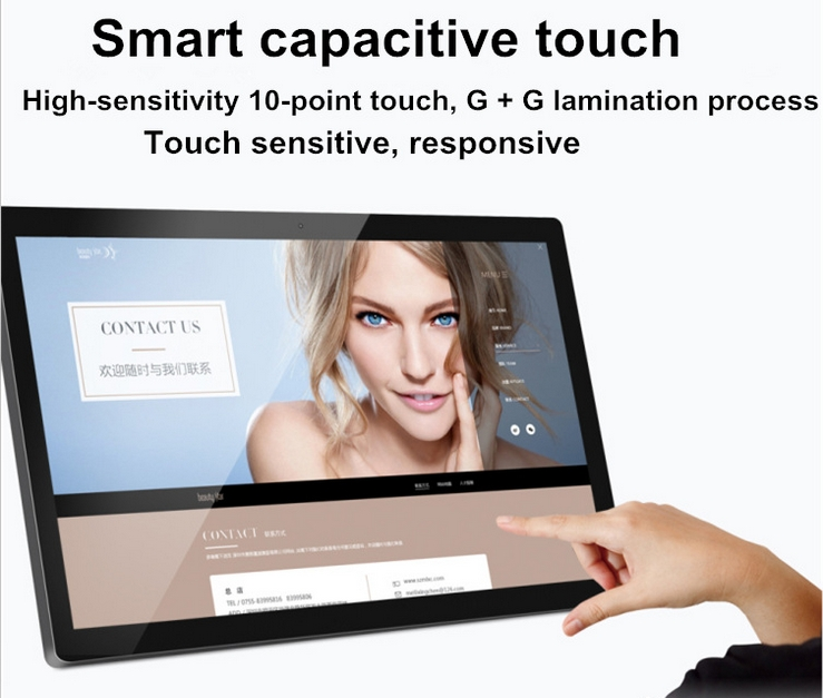 13.3 15.6 18.5 21.5 23.6 Inch Led Lcd Tft Hd All In One Pc Computer Capacitive Touch Screen Pc Desktop
