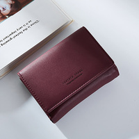 Luxury Brand Coin Wallet Women Pu Leather Wallet Female Quality Zipper Small Purse Money Bag Fashion