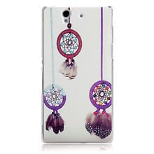 Cute Plastic Phone Cover for Sony Xperia Z L36H