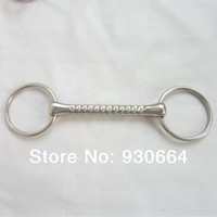 Stainless Steel Snaffle Bit Horse Equipment Wholesale H0820