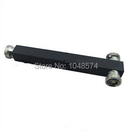 Base station 7/16 DIN female jack cavity 2 two way power splitter divider  IBS BTS DAS 500W high power square type