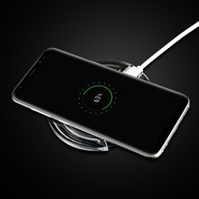 3 Ports Wireless Charger For Samsung Galaxy S9 S8 Plus S 9 8 S9Plus Mini Phone Accessory Portable Charging Pad Dock Charger Case