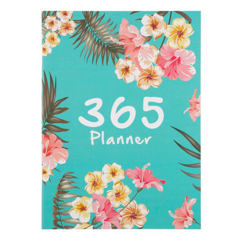 все цены на A4 Bullet Journal Notebooks 365 Days Cute Flower Diary Weekly Monthly Planner Agenda Notebook School Office Supplies