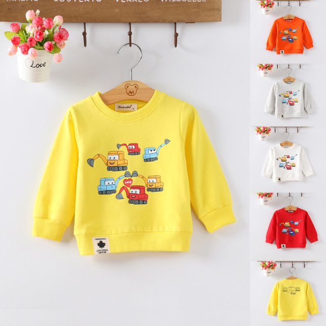 Kids Baby Boys Girls Hoodie Clothes Clothing Infant Sweatshirts 3