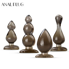ANAL PLUG Anal sex toys anal plug Anal beads Butt Plug Sex products erotic toys Smooth Touch Silicone Sex toys for women men small medium large silicone butt plug with crystal jewelry smooth touch anal plug no vibration anal sex toys for woman men gay