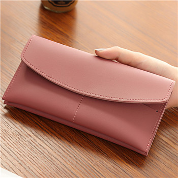 WESTERN AUSPICIOUS Wallet Female Red Pink Gray Blue Black Women Purse Cellphone Wallet Card Holder Carteira Large Capacity Purse