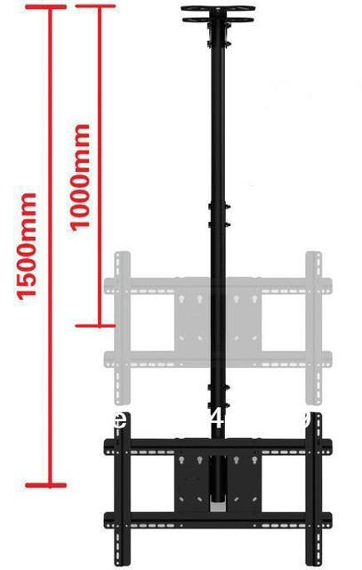 Retractable Tv Stand Plasma Tv Lcd Celling Mounts For Screen32 57