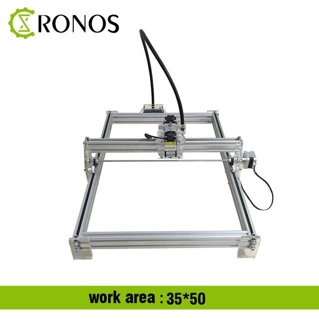 15W Working Area 35*50CM DIY Laser Engraving Machine For Toy Laser Cutting Machine 15000MW Laser Engraver Mark on Metal