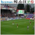 Leeman футбол стадион по периметру светодиодный дисплей в голландии из светодиодов реклама доска P10 на открытом воздухе IP65 футбол для реклама