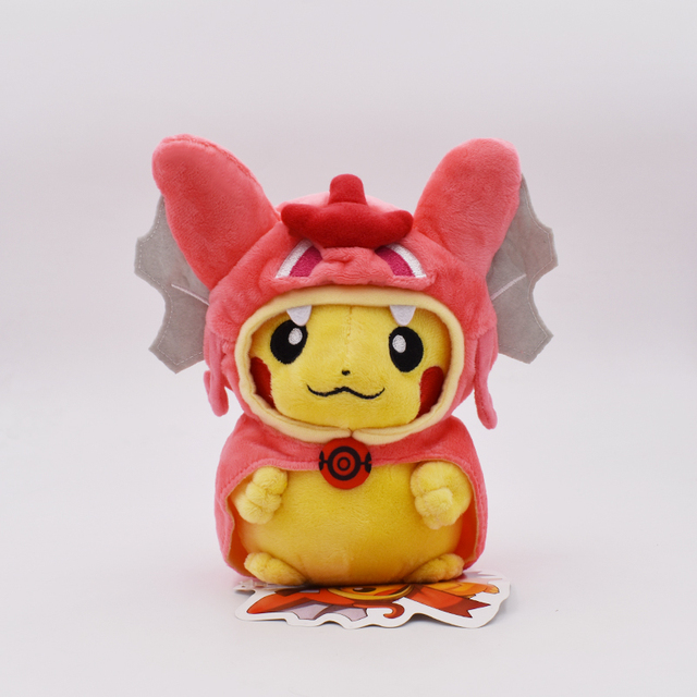 Аниме игрушка Покемон Пикачу в костюме 20-23 см 4