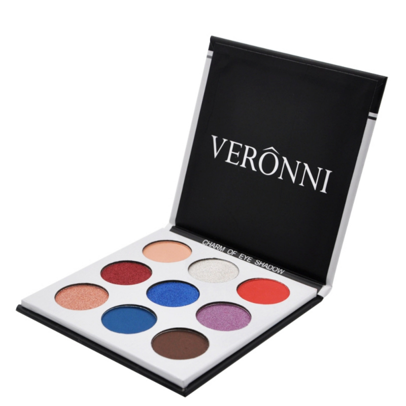 9Colors Eye Shadow Palette Natural Shimmer Matte Eyeshadow Powder Brand Professional Eyes Makeup Pallete Maquiagem 16