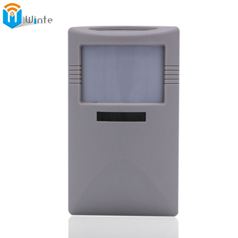 цены Infrared Detector 433Mhz Wireless Intelligent PIR Motion Sensor Detector For GSM PSTN Home Alarm System without antenna Infrared