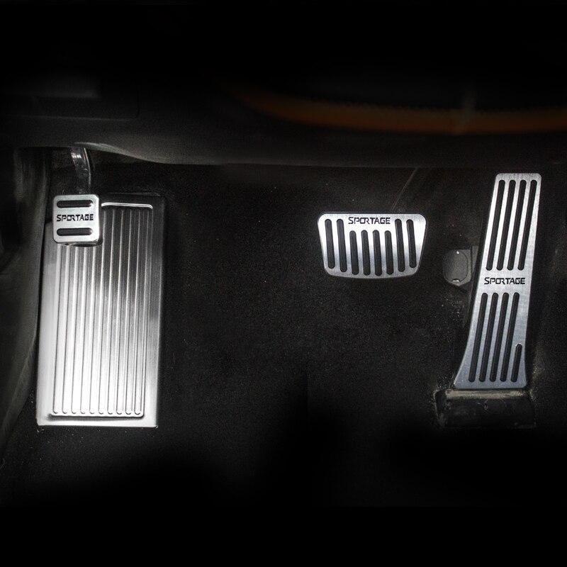 アルミ車のブレーキ、アクセルペダル At 起亜 Sportage でカバーノンスリップパッド 4 2016 2017 2018 2019 Accessorie