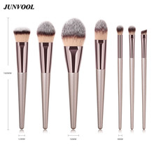 Pro Champagne Cosmetic Brushes Makeup Tool Kit for Women Cof