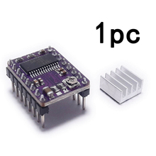 Durable 1pc/4pcs Driver Stepper Motor Module for 3D Printer DRV8825 A4988 with Heat Sink geeetech 3d start kits smart square lcd12864 display adaptor 5pcs drv8825 stepper motor driver ramps1 4 shield iduino mega2560