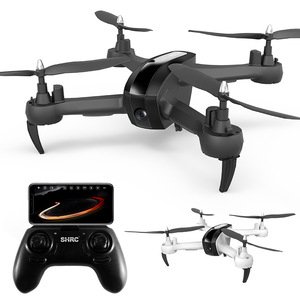 Image 3 - HR aerial photography drone SH7 remote control aircraft intelligent follow gesture photo video four axis aircraft