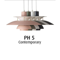 Nordic PH5 Led Pendant Lights for Living Room Colorful Suspend Lamp Dining Room Pendant Lamp Modern Kitchen Lighting Fixtures