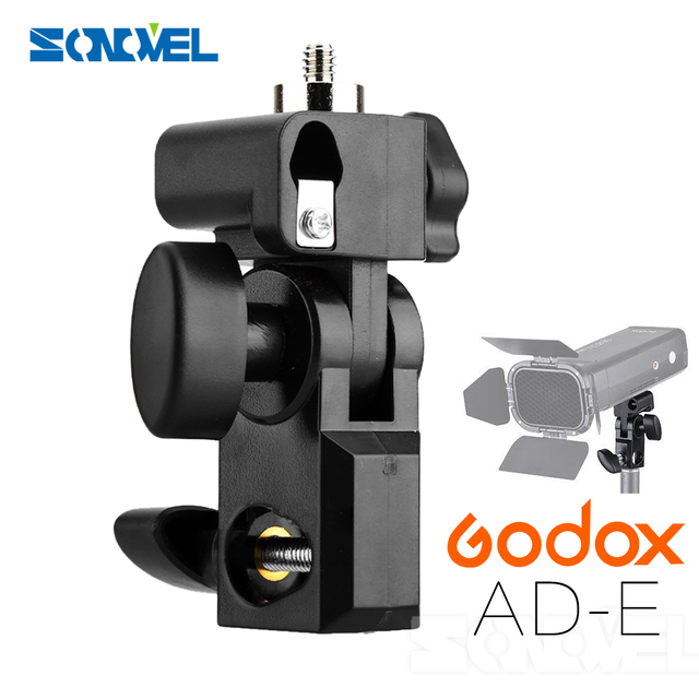 """Godox AD-E Flash Speedlite Holder for Godox AD200 with 1/4"""" Screw On The Top to Hold Godox AD200"""
